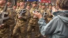 Soldiers welcomed home in Dumfries