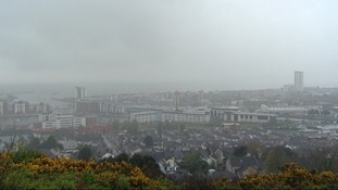 The economic weather in Swansea is no better then the wind and rain falling on it today