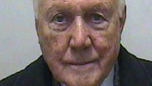 Stuart Hall in police custody