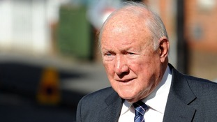 Stuart Hall was sentenced to 15 months in jail.