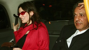 Nigella Lawson and Charles Saatchi pictured in central London in 2008.