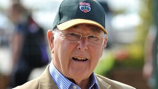 Former Formula One commentator Murray Walker.