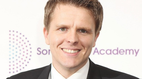 Former BBC Formula One presenter Jake Humphrey.