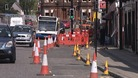 Major roadworks underway at Dumfries Whitesands