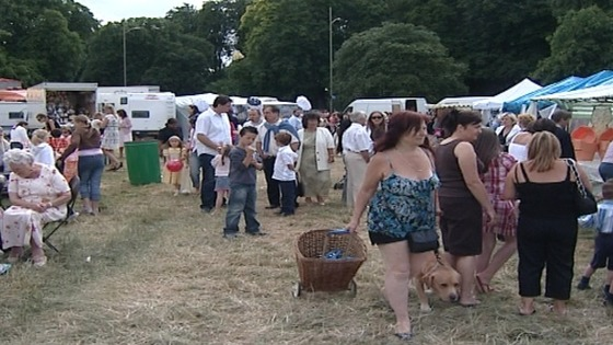 The annual Midsummer Fair