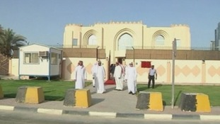 The Taliban have opened a new office in Doha ahead of peace talks with the US.