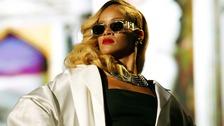 Rihanna performing in Rabat last month.