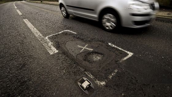 Local roads 'may have to close due to poor repair'
