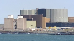 The nuclear plant at Wylfa