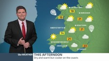 Wednesday's weather: Dry and bright overall