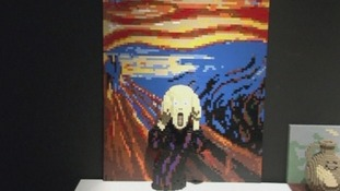 Edvard Munch's The Scream gets the LEGO treatment.