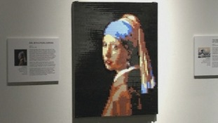 Girl with a Pearl Earring was originally painted by Johannes Vermeer.
