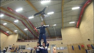 Durham gymnasts win world title