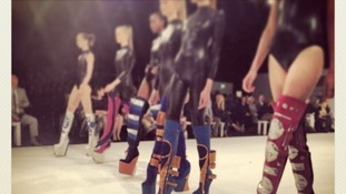 Elijah Blaine Kinne's footwear designs