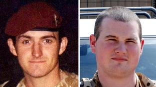 Private Lee Ellis and Lance Corporal Kirk Redpath
