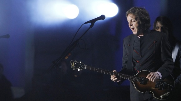 Macca in concert