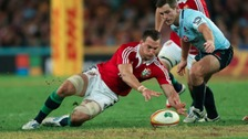 Eight Welshmen in Lions team for first test