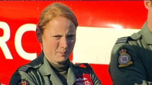 Flight Lieutenant Kirsty Stewart is being moved to a ground role in the RAF