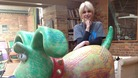 Gromit gets a Joanna Lumley-style makeover