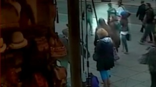 CCTV footage on the day Emaan went missing