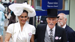 Sir Bruce and Lady Forsyth during Ladies' Day of the Royal Ascot meeting