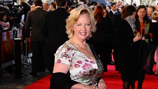 Deborah Meaden attended the event in aid of the Tusk Trust, of which she is a patron.