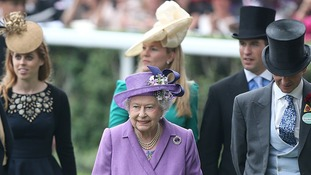 The Royals at Ascot