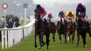 Estimate, ridden by Ryan Moore after winning The Gold Cup during day three of the Royal Ascot
