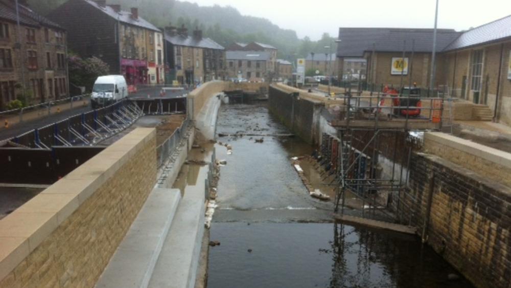 Work to prevent flooding in Calder Valley | Calendar - ITV ...