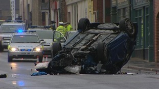 Five people have been taken to hospital following serious collision on Ber Street in Norwich