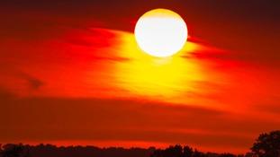 Sunrise Cropwell Bishop Nottinghamshire
