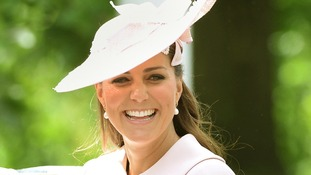 The Duchess of Cambridge attended the Trooping the Colour ceremony.