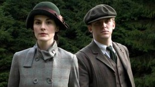 Lady Mary and Matthew Crawley.