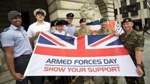 Nottingham will host Armed Forces Day this year.
