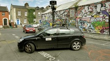 A file photo of a Google Street View car.