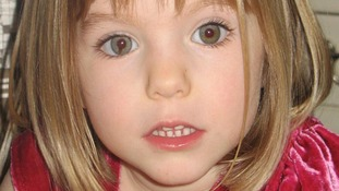 File photo of Madeleine McCann.