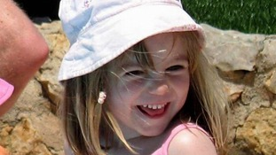 Madeleine McCann pictured in May, 2007.