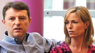 Gerry and Kate McCann pictured in May 2012.