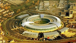GCHQ headquarters in Cheltenham, Gloucestershire.