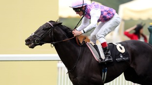 Thomas Chippendale, ridden by Johnny Murtagh, died after winning the Hardwicke Stakes.