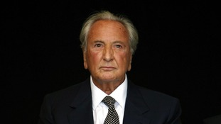 TV star Michael Winner, who died in January.
