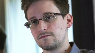 Edward Snowden gave an interview to the Guardian while in Hong Kong