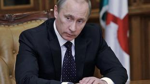The Russian President Valdimir Putin