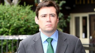 Former health secretary Andy Burnham.