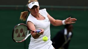 Elena Baltacha out of Wimbledon championship