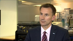 Jeremy Hunt MP, Health Secretary