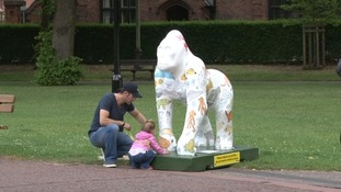 GoGoGorillas sculptures will raise funds for charity when they are auctioned off