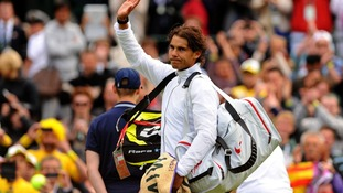 Rafael Nadal lost in straight sets to 29-year-old Belgian Steve Darcis