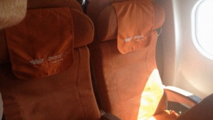 Edward Snowden's empty seat on a flight to Havana.