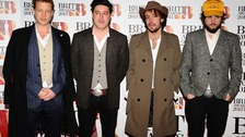 Ted Dwane, Marcus Mumford, Ben Lovett and Winston Marshall